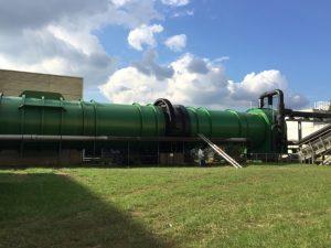 Le Bio Réacteur Stabilisateur 48, un cylindre de compostage accéléré.
